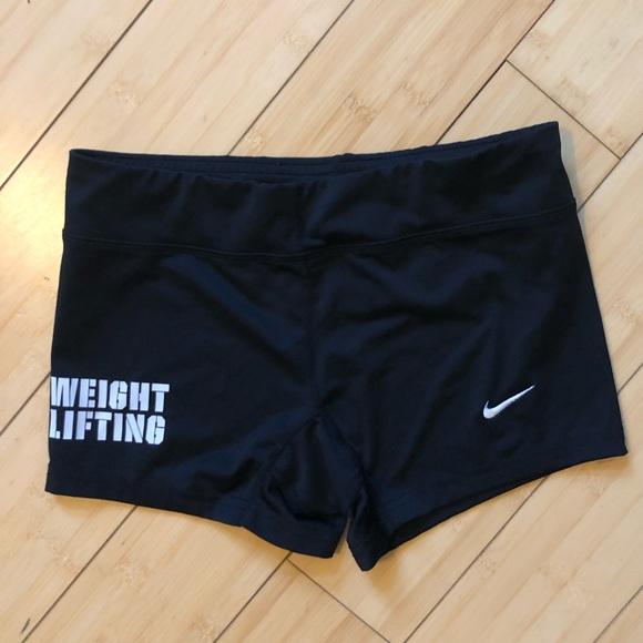 Nike Pants - Nike weightlifting shorts
